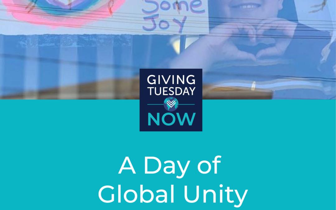 #GivingTuesdayNow- Tuesday 5th May 2020